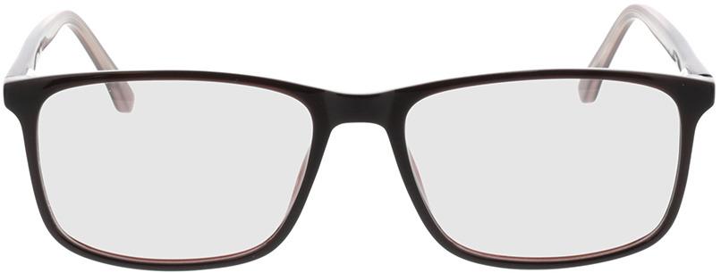 Picture of glasses model Gotland bruin in angle 0