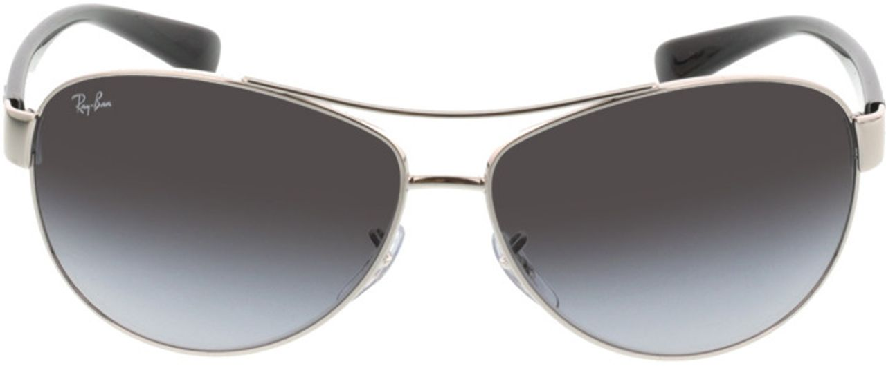 Picture of glasses model Ray-Ban RB3386 003/8G 63-13 in angle 0