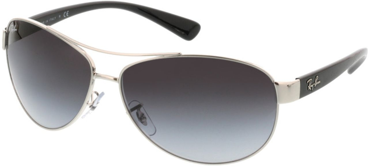 Picture of glasses model Ray-Ban RB3386 003/8G 63-13 in angle 330
