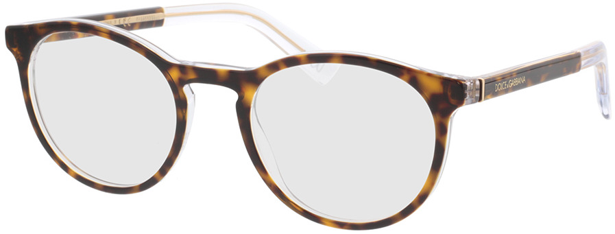 Picture of glasses model Dolce&Gabbana DG3309 757 52-21 in angle 330