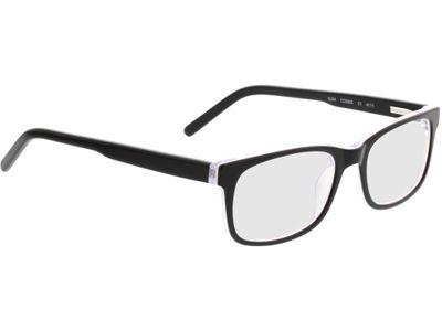 Brille Benidorm-schwarz/transparent