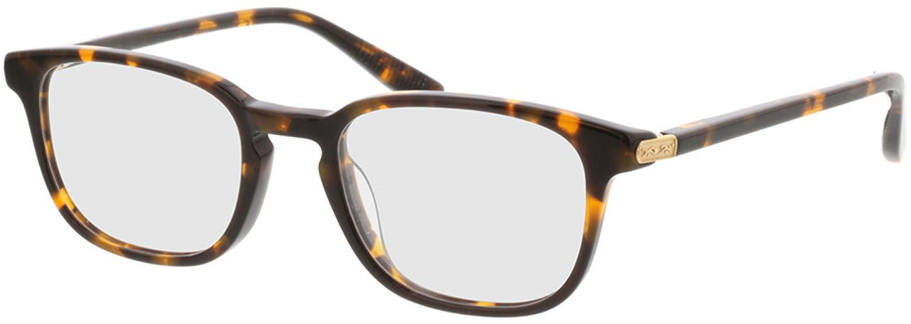 Picture of glasses model Emilio-braun-meliert in angle 330