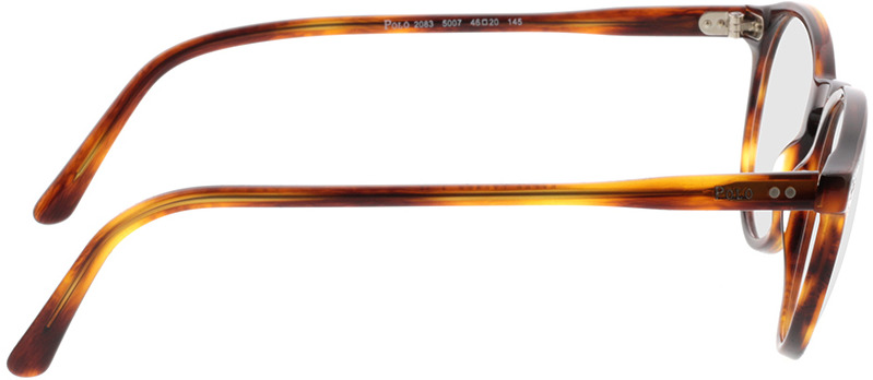 Picture of glasses model Polo Ralph Lauren PH2083 5007 46-20 in angle 90