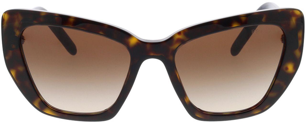 Picture of glasses model Prada PR 08VS 2AU6S1 55-19 in angle 0