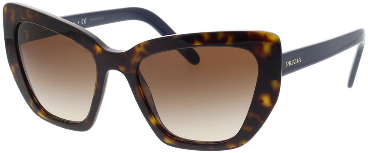 Picture of glasses model Prada PR 08VS 2AU6S1 55-19 in angle 330
