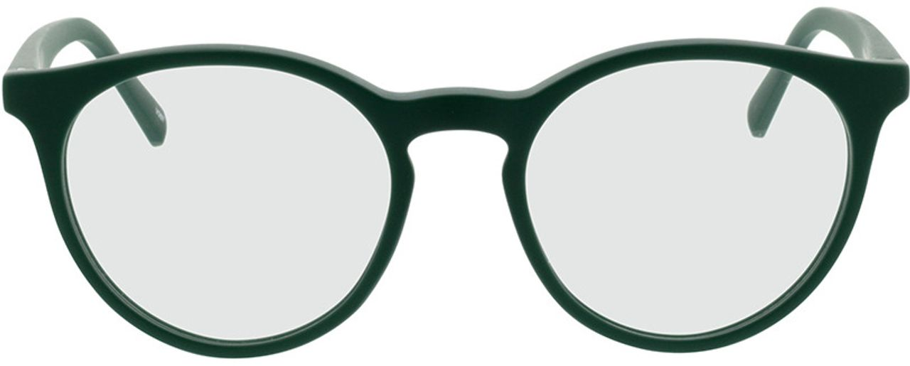 Picture of glasses model Oxalis-grün in angle 0