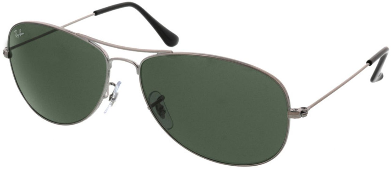 Picture of glasses model Ray-Ban Cockpit RB3362 004 59-14 in angle 330