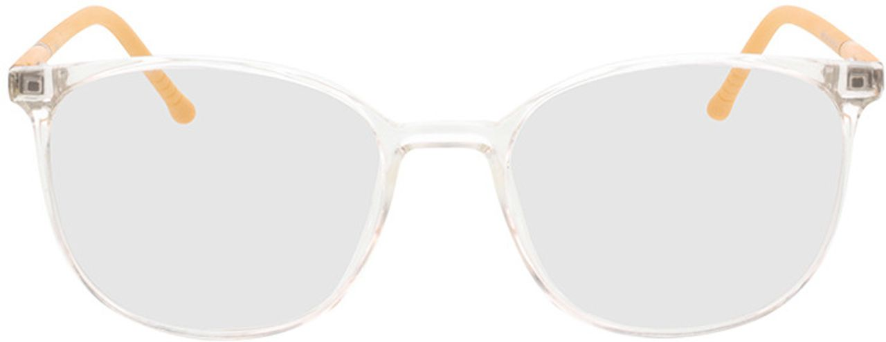Picture of glasses model Alea-transparent/gelb in angle 0