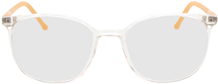 Picture of glasses model Alea-transparent/jaune in angle 0