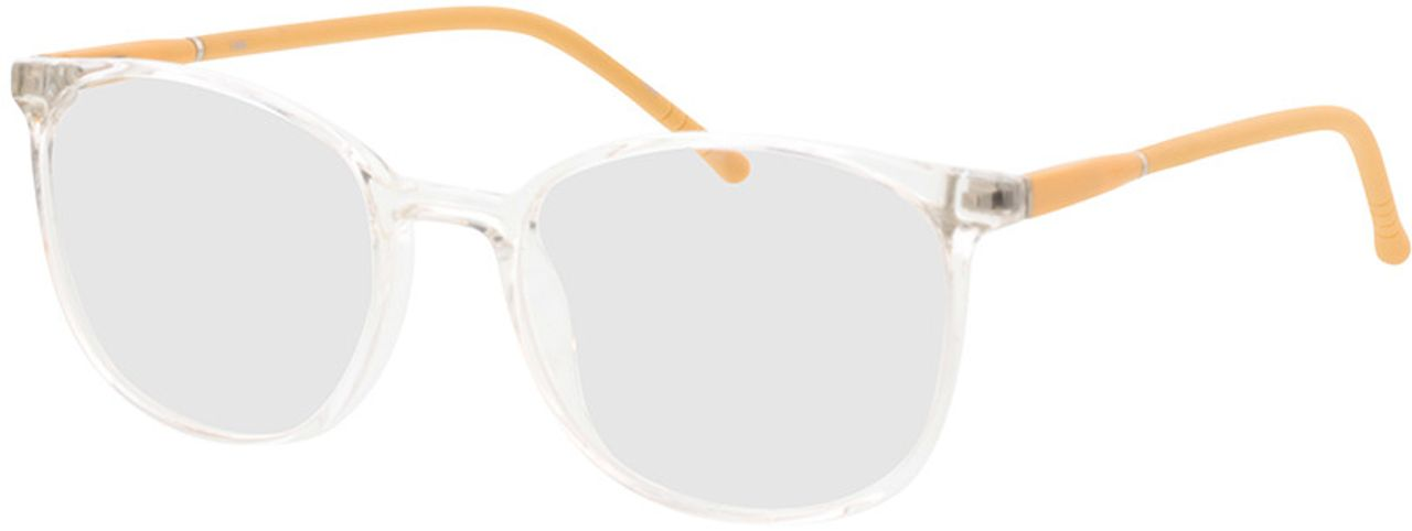 Picture of glasses model Alea-transparent/gelb in angle 330