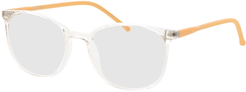 Picture of glasses model Alea-transparent/jaune in angle 330