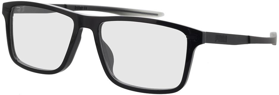 Picture of glasses model Puma PU0300O-001 57-16 in angle 330