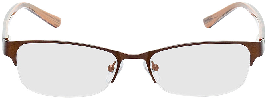Picture of glasses model Gandia-braun/braun meliert in angle 0