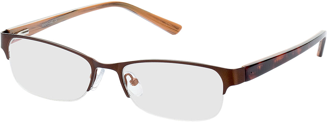 Picture of glasses model Gandia-braun/braun meliert in angle 330