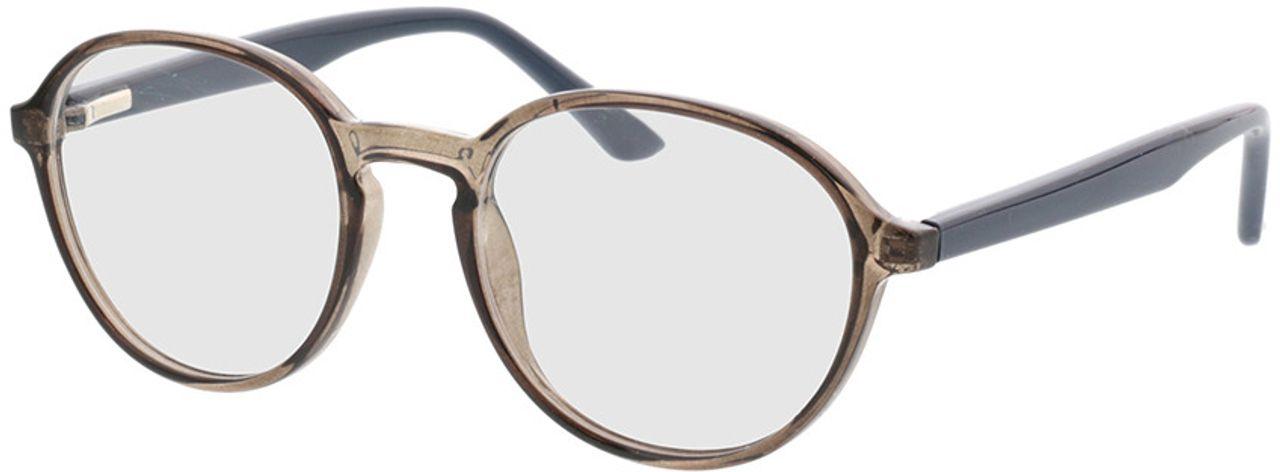 Picture of glasses model Decio-grau transparent in angle 330