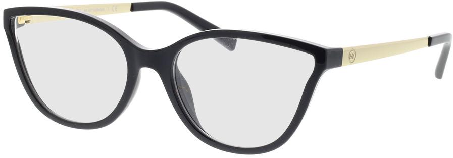 Picture of glasses model Michael Kors Belize MK4071U 3332 53-17 in angle 330