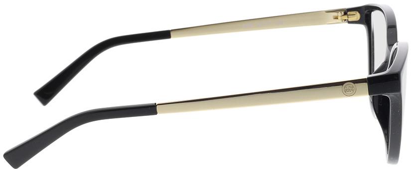 Picture of glasses model Michael Kors Belize MK4071U 3332 53-17 in angle 90
