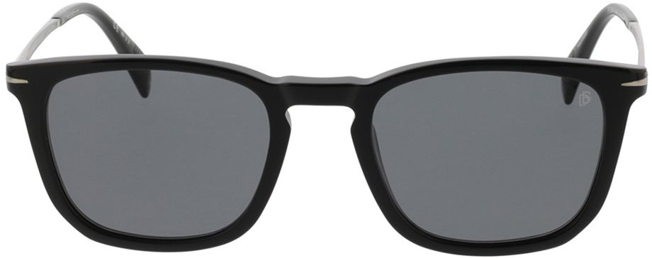 Picture of glasses model David Beckham DB 1034/S 807 53-21 in angle 0