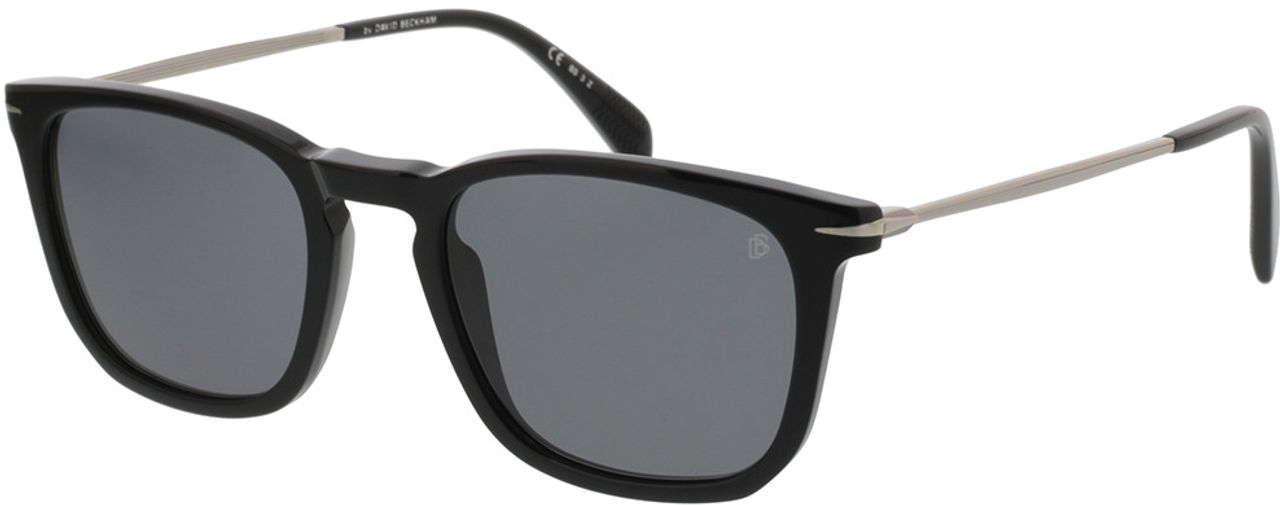 Picture of glasses model David Beckham DB 1034/S 807 53-21 in angle 330