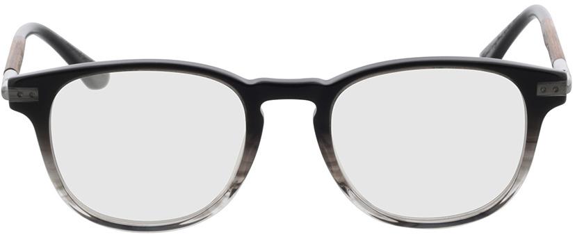 Picture of glasses model Wood Fellas Optical Lucida macassar/zwart 47-19 in angle 0