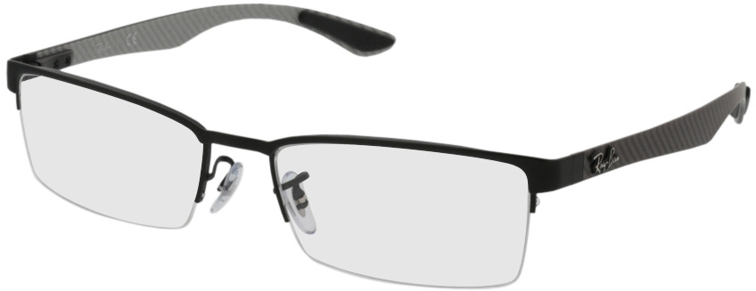 Picture of glasses model Ray-Ban RX8412 2503 54-17 in angle 330