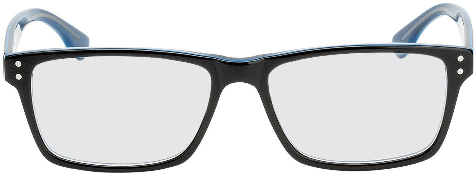 Picture of glasses model München-schwarz/blau in angle 0