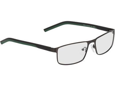 Brille Lissabon-schwarz/grün