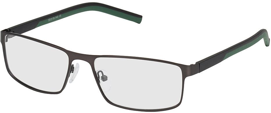 Picture of glasses model Lissabon-noir/vert in angle 330