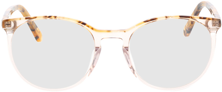 Picture of glasses model Holmen-braun-transparent in angle 0