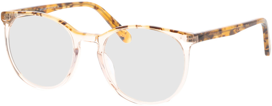 Picture of glasses model Holmen-braun-transparent in angle 330