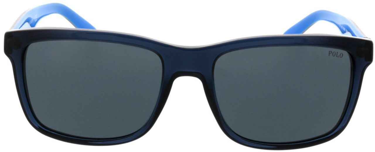 Picture of glasses model Polo Ralph Lauren PH4098 556387 57-18 in angle 0