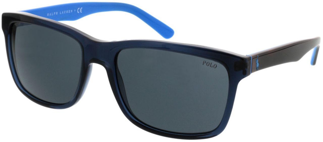 Picture of glasses model Polo Ralph Lauren PH4098 556387 57-18 in angle 330