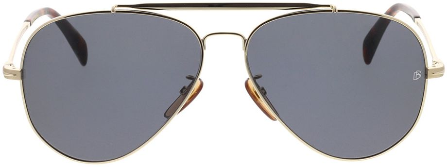 Picture of glasses model David Beckham DB 1004/S J5G 62-14 in angle 0