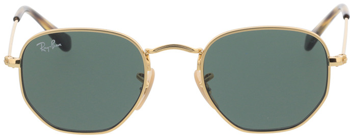 Picture of glasses model Ray-Ban Junior Hexagonal RJ9541SN 223/71 44-19 in angle 0