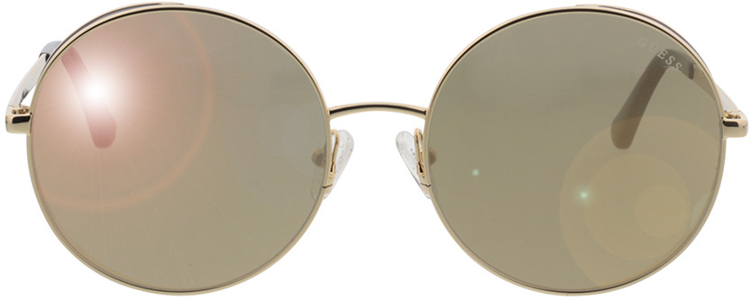 Picture of glasses model Guess GU7606 32G 57-18 in angle 0
