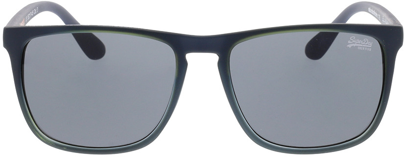 Picture of glasses model Superdry SDS Stockholm 106 Mat navy/Limoen 55-17 in angle 0