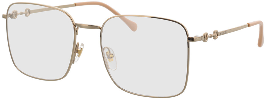 Picture of glasses model Gucci GG0951O-001 57-19 in angle 330