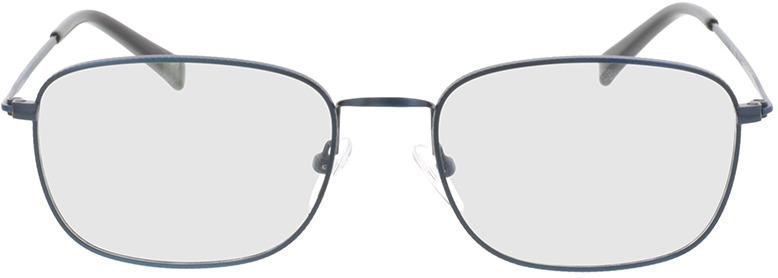 Picture of glasses model Isaac-matt blau in angle 0