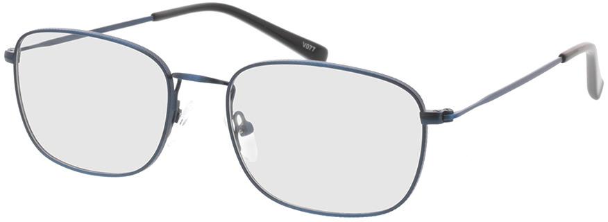 Picture of glasses model Isaac-matt blau in angle 330