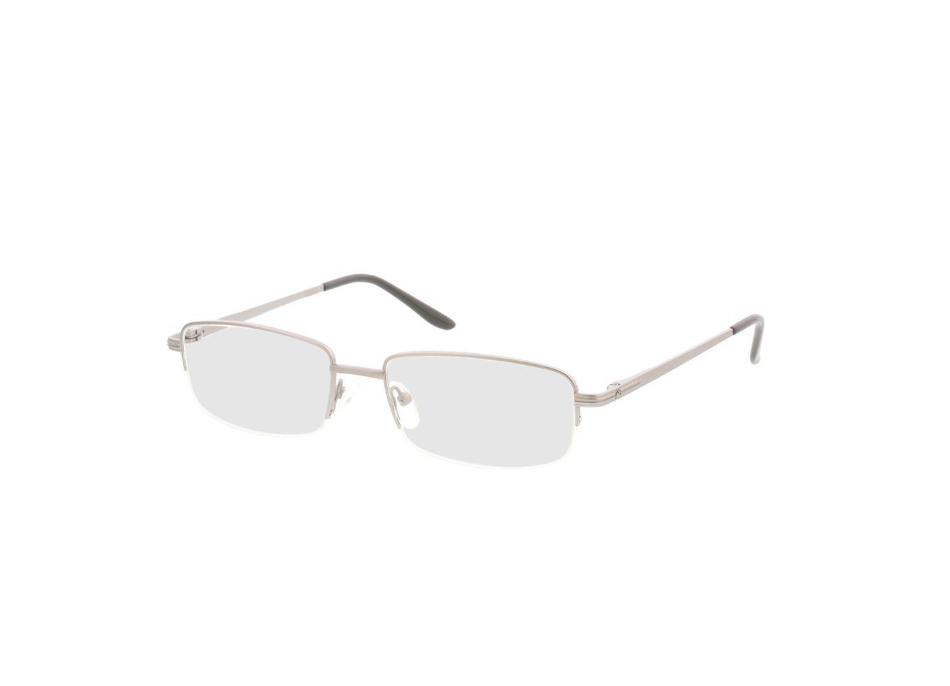 4250325292857-singlevision-0000 Feline-silber Gleitsichtbrille, Halbrand, Dünn OMNIO by Brille24