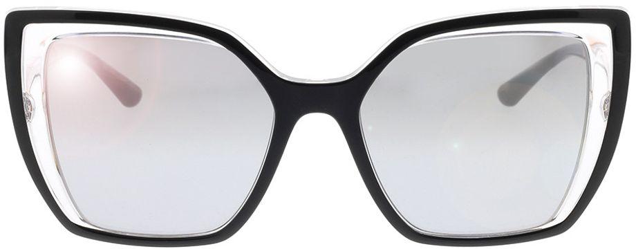 Picture of glasses model Dolce&Gabbana DG6138 675/6V 55-18 in angle 0
