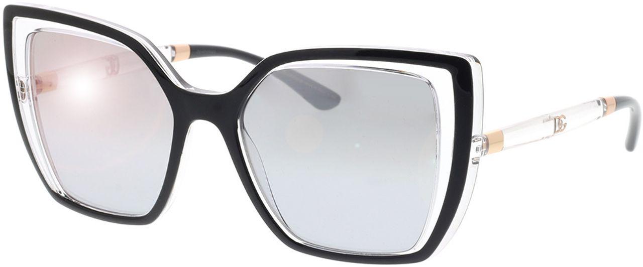 Picture of glasses model Dolce&Gabbana DG6138 675/6V 55-18 in angle 330