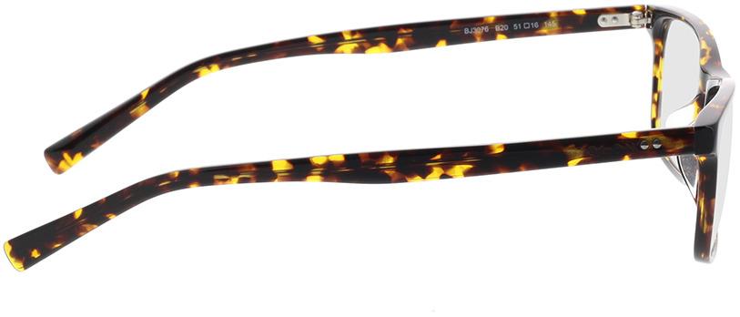 Picture of glasses model Bolon BJ3076 B20 51-16 in angle 90