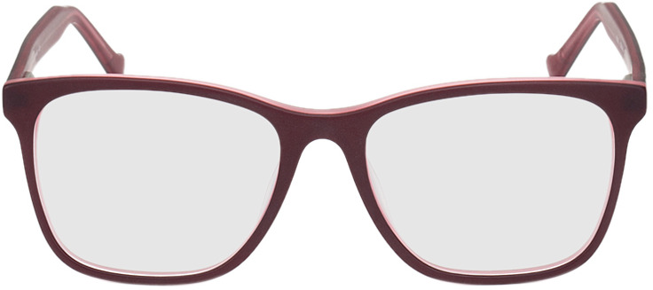 Picture of glasses model Napier-rot in angle 0
