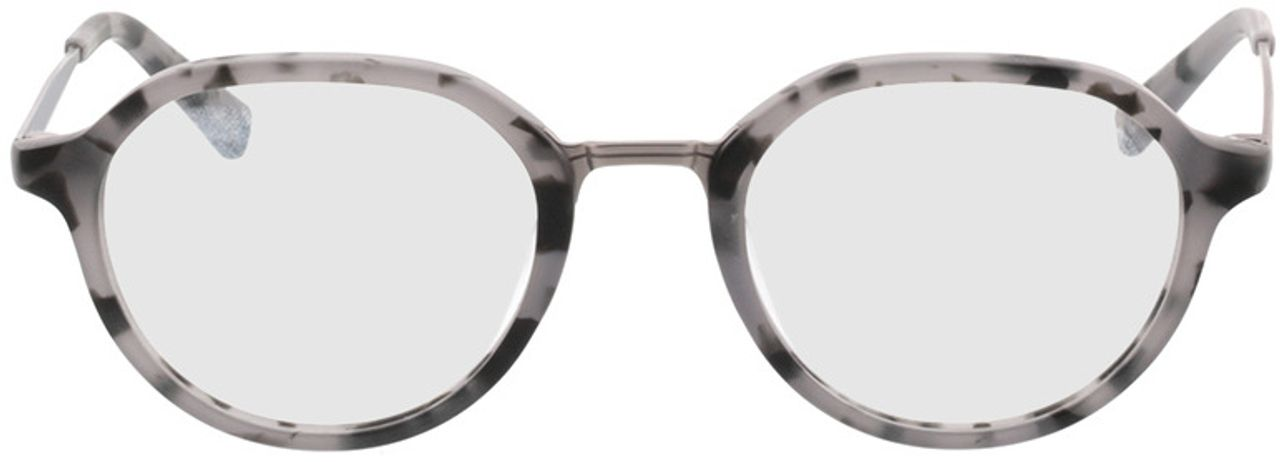 Picture of glasses model Gineva-grau-meliert/anthrazit in angle 0