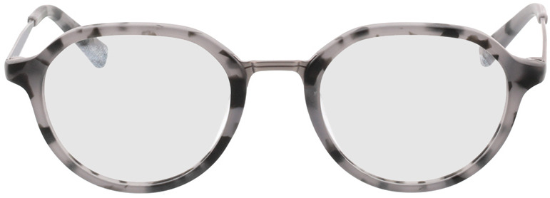 Picture of glasses model Gineva-gris chiné/anthracite in angle 0