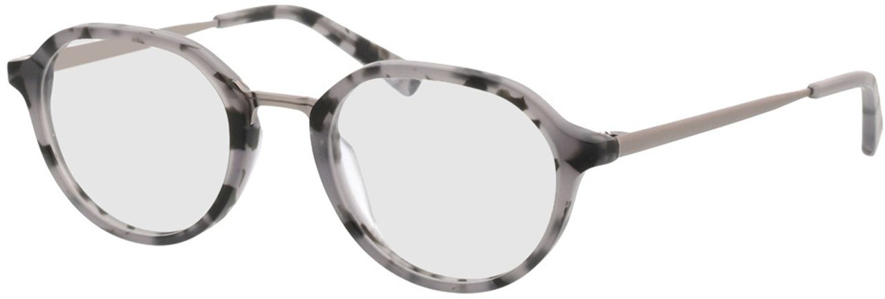 Picture of glasses model Gineva-grau-meliert/anthrazit in angle 330