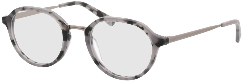 Picture of glasses model Gineva-gris chiné/anthracite in angle 330