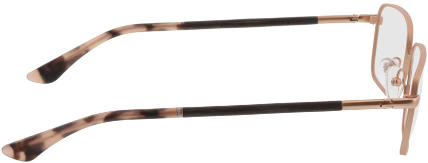 Picture of glasses model Wood Fellas Optical Falkenfels nogueira 53-11 in angle 90