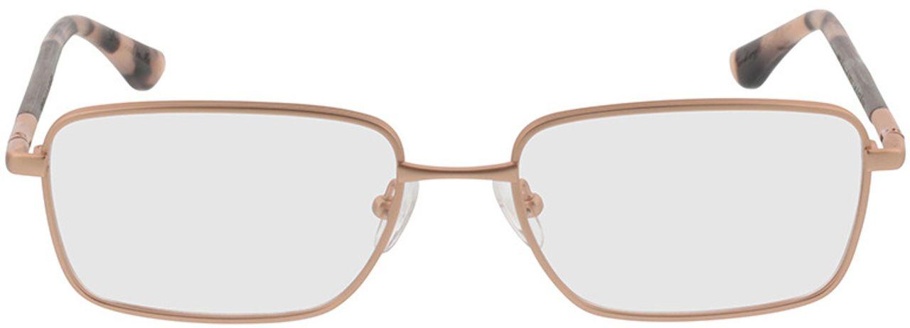 Picture of glasses model Wood Fellas Optical Falkenfels walnut 53-11 in angle 0